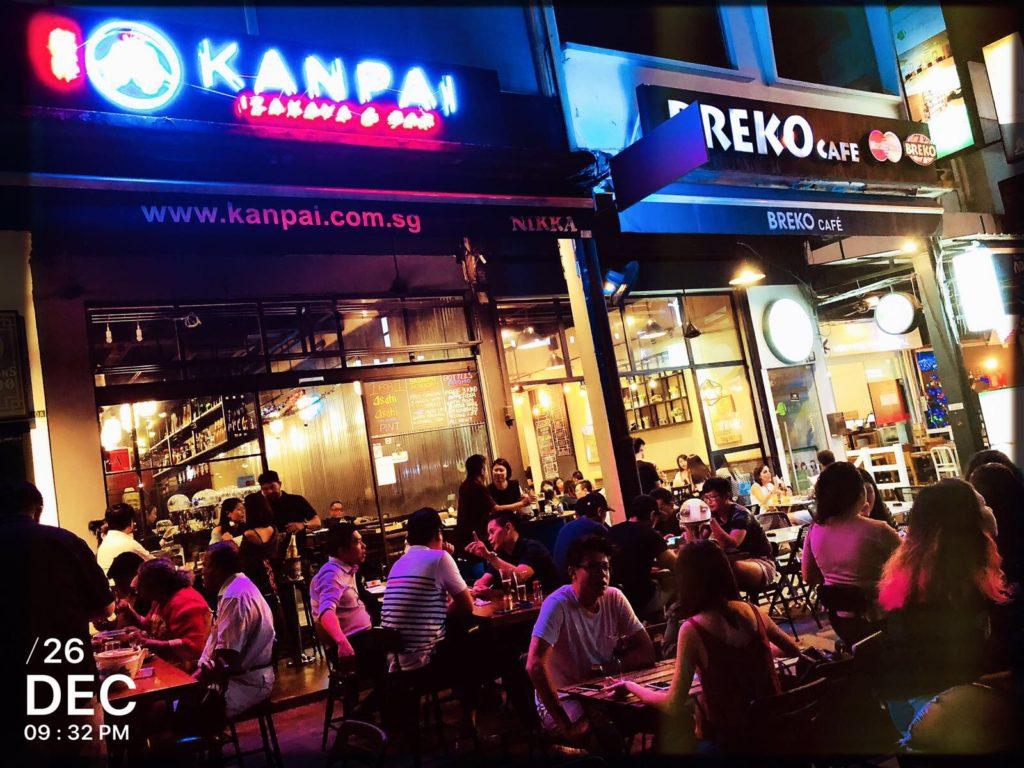 Japanese Izakaya Singapore